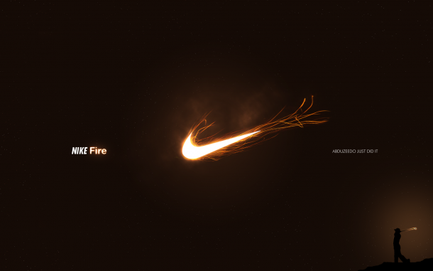 Nike Fire Advertisement