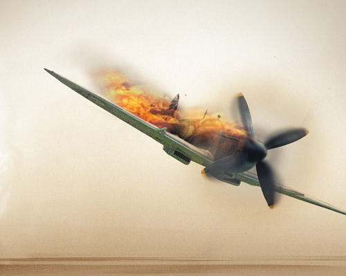 Setting a Plane on Fire